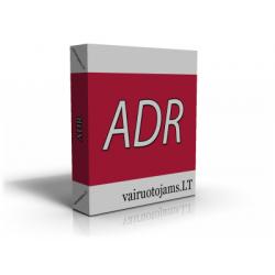 ADR testai saugos specialistams (mokytojams)